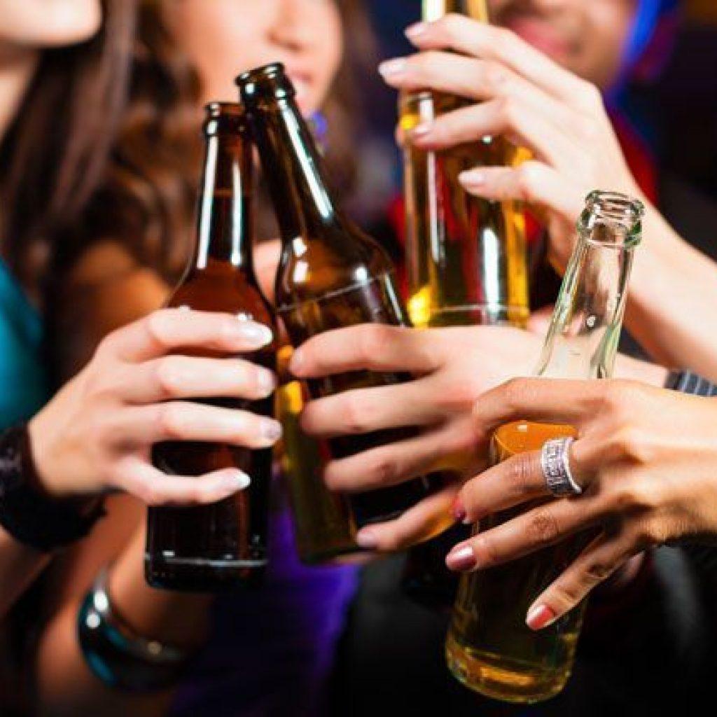 El consumo de alcohol también es un problema.